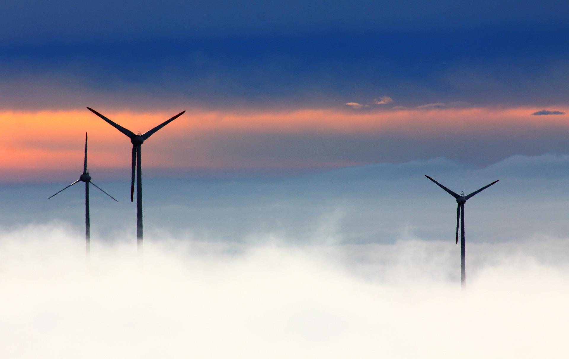 Eoliennes et energie propre