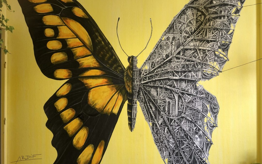 Colors Festival : un appartement recyclé en exposition street-art